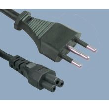 Italy Plug to IEC C5 Power Cord