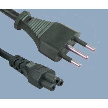 Italy Plug to IEC C5 Power Cord