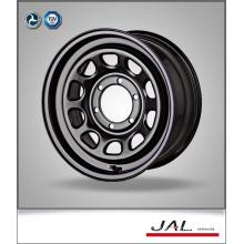 Off Road Car 4x4 Wheels Rims Chrome Wheels in Black Finish