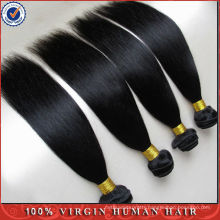 Hot Selling 1 Bundle 8 inch top grade 6a 100% virgin Brazilian hair unprocessed Brazilian straight cheap hair weaving