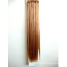 Premium Quality Popular Brazilian Hair 12# Color 18inch Easy Pull Knot Thread Hair Extension Virgin Hair Remy Hair Human Hair
