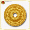 Gold PS Material Artistic Panel for Drawing Room