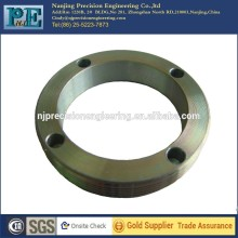 Zinc-plating steel customized made forge flange mounting ring