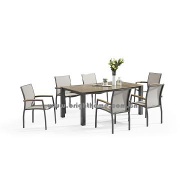 Novo Design Textilene Outdoor Dining Set