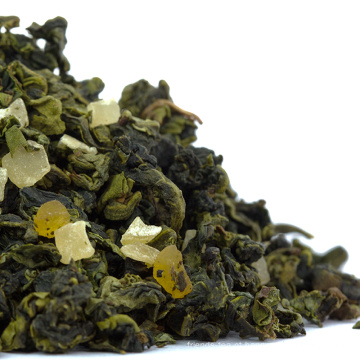 Amostra Grátis Chinês Melhor Pêssego Oolong Chá Misturado