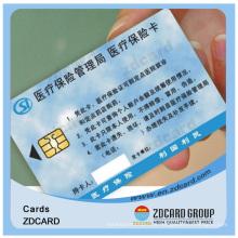 Alta Qualidade ISO Padrão PVC Magnetic Strip Smart ID Card