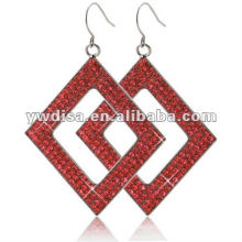 Wholesale Attractive Beautiful Square Stainless Steel Earring With Factory Price