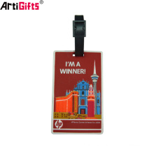Wholesale Custom Design High Quality Plastic Promotional Gifts abs Luggage Tag