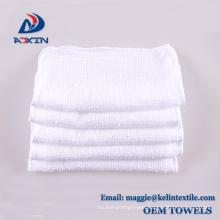 Bulk sale plain white disposable hot airline towel for hand and face Bulk sale plain white disposable hot airline towel for hand and face