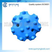 Brocas de botón de la serie DTH de presión de aire media para la perforación