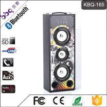 BBQ KBQ-165 25W 2000mAh professionelle Sound powered Sound Lautsprecher Box