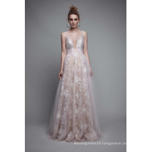 Lace A Line Prom Party Formal Evening Gowns