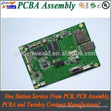 PCB Copy Board, PCB Assembly Service solar light controller pcb assembly