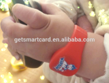 Eco skin silicone material 13.56MHZ NFC bands for Adult and Child