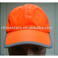 Algodón de color naranja Tapas reflectantes de bola de seguridad