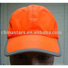 orange cotton Reflective safety ball caps