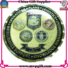 Metal Challenge Coin with 2 Side Logo