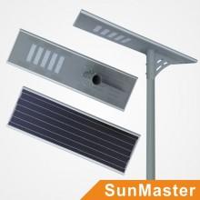 Luz de calle LED solar integrada todo en uno