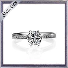 Оптовая цена 18k Белое золото женское кольцо
