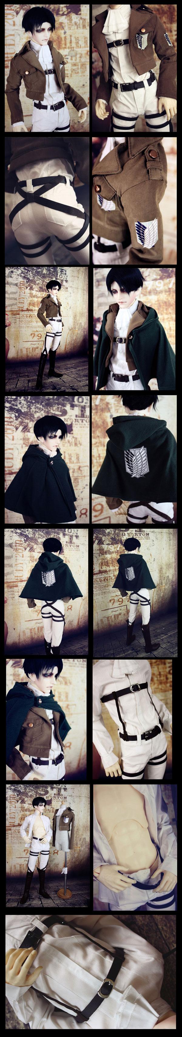 Bjd Clothes Shingeki No Kyojin