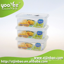 Microwavable and Dishwasher Safe Transparent PP Box 600ml