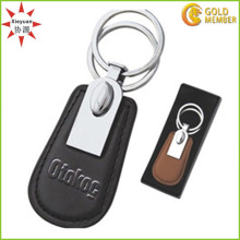 China Sales High-End Leather Keychain with Boxes