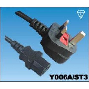 Стандарт -UK кабель питания
