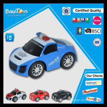 Newest design plastic promotion police car power wheels toy car