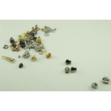 Zinc Alloy Metal Zipper stops for bag