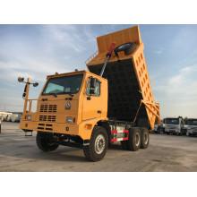 Venda Howo 70 toneladas Caminhão basculante especial usado para mineração