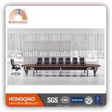КЧ-04 современный конференц-стол из нержавеющей стальная рама 6м конференц-столы для продажи