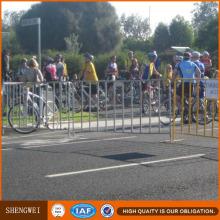 Barrière de clôture de trafic en tube d'acier de sécurité