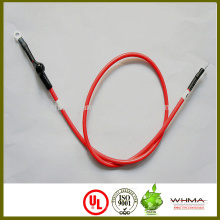 cabo da bateria da bicicleta do eletro ou do carro de electro com terminal do anel, tubo do número e tubo heat-shrinkable
