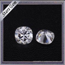 Diamant synthétique de Moissanite de clarté de couleur blanche de V / s de haute qualité de V / s pour la fabrication de bijoux