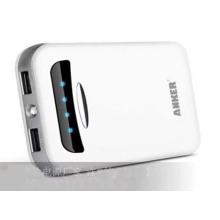 Banque promotionnelle 10000mAh de puissance de téléphone portable avec la capacité réelle
