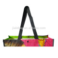 Fashion design recycled folding non woven shopping bags custom