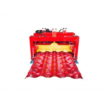 828 Circular arc glazed tile roll forming machine
