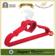 Red Flocked Hanger Velvet Hanger