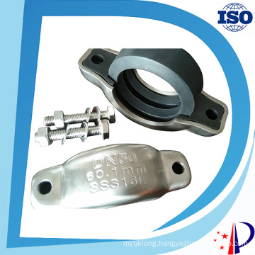 Assembly Metal Pipe Clamp Fitting Hydraulic Heavy Duty Coupling