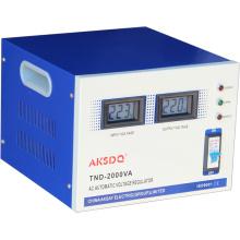 2015 Stabilisateur de tension automatique à courant alternatif à courant alternatif simple 10000 Watt Régulateur d'utilisation à domicile