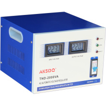 2015 Estabilizador de tensão automático a quente de fase única 10000 Watt Regulador de uso doméstico