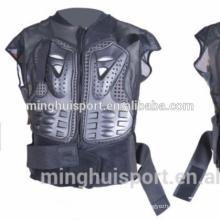 Armadura del caballero engranaje del esquí motocicleta deportes bodyarmor chaqueta de la armadura del cuerpo de motocross spine protección del pecho engranaje frente