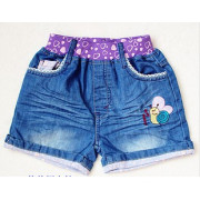 Kid's Summer Colorful Short Jeans