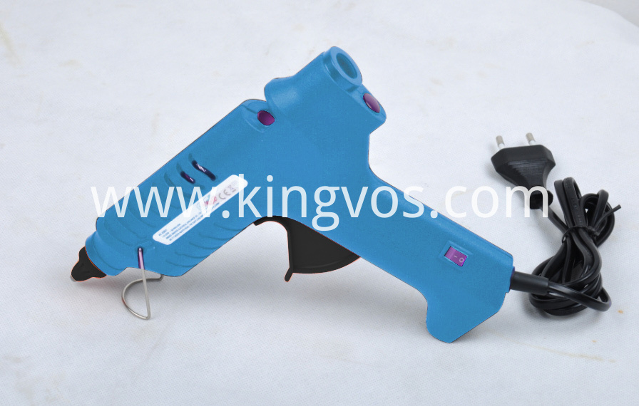 80W Hot Melt Glue Gun Blue case 110V