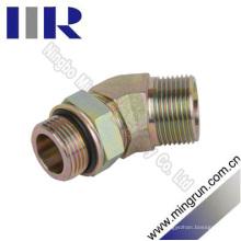 45 Adaptador hidráulico de montaje en tubo macho de junta tórica métrica / Un Unf UnF (1CO4-OG)