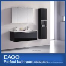 Gabinete de baño de doble cuenca MDF (PC084-4ZG-1)