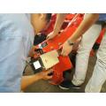 Mobile electric engraving machine