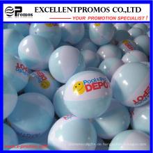 Förderung-Logo Kundengebundener PVC-aufblasbarer Strand-Ball (EP-B7096)