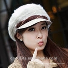 Berret Cap mit 100% Wolle Mädchen Mütze in China gemacht