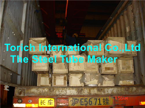 High Precision Ssid Steel Pipes Wooden Box Packing